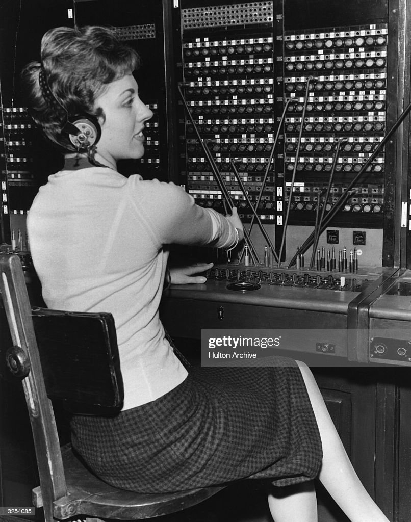 telephone switchboard stock photos and pictures getty images a telephonist operating a switchboard at the exhibition of historical telephone apparatus at fleet building farringdon