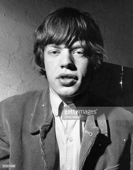 Mick Jagger singer with up and coming rhythm and blues group the Rolling Stones