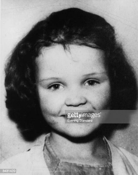 Lesley Ann Downey aged 10 She was a victim of the Moors Murderers Ian Brady and Myra Hindley
