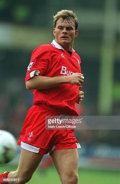 27 December 1993 Premier League Football Swindon Town v Arsenal Keith Scott of Swindon