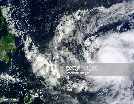 December 2, 2012 - Typhoon Bopha in the Western Pacific Ocean headed towards the southern Philippines.