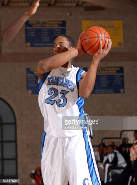 Compton High School's Demar Derozan plays in the 2007 Mission Prep Christmas Classic at Mission Prep High School in San Luis Obispo CA