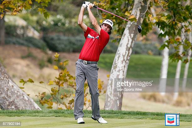 Bubba Watson during second round of the Chevron World Challenge at the Sherwood Country Club in Thousand Oaks CA