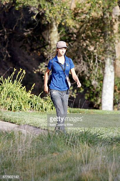 Camilo Villegas girlfriend during second round of the Chevron World Challenge at the Sherwood Country Club in Thousand Oaks CA