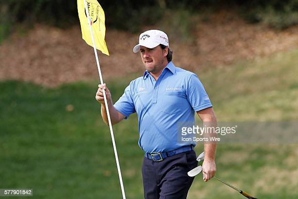 Graeme McDowell of Ireland during final round of the Chevron World Challenge at the Sherwood Country Club in Thousand Oaks CA