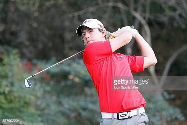 Rory McIlroy during second round of the Chevron World Challenge at the Sherwood Country Club in Thousand Oaks CA