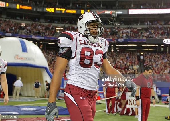 South Carolina Gamecocks defensive end Cliff Matthews enters the field in the Florida State Seminoles 2617 victory over the South Carolina Gamecocks...