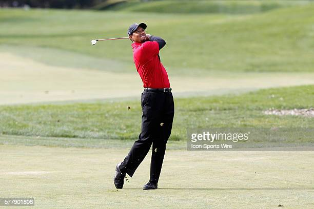 Tiger Woods during final round of the Chevron World Challenge at the Sherwood Country Club in Thousand Oaks CA