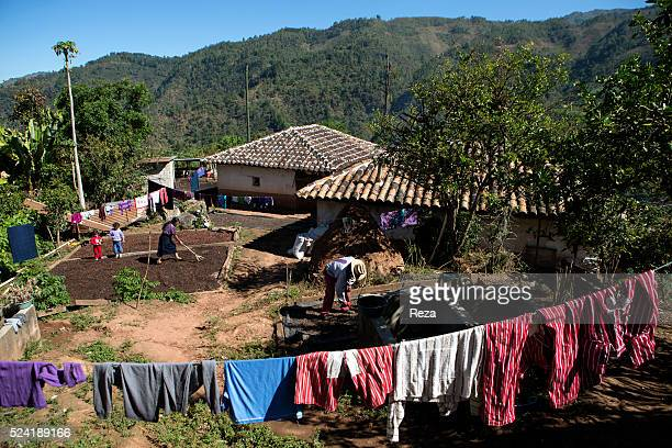 December 2012 Village of Chanjon Rio Guatemala The tiny Guatemalan hamlet of Chanjon consisting of but a few houses no more than fifteen The families...