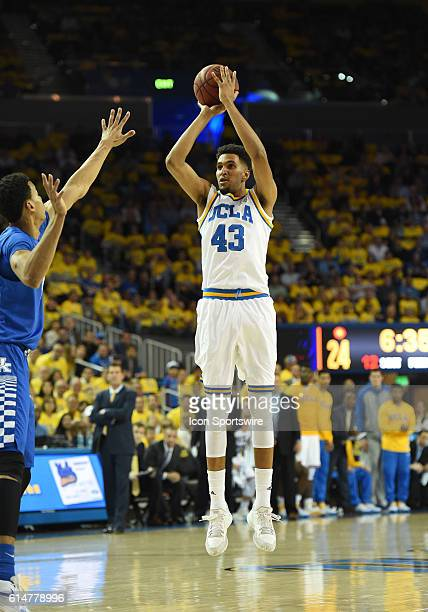 UCLA Jonah Bolden during an NCAA basketball game between the Kentucky Wildcats and the UCLA Bruins at Pauley Pavilion in Los Angeles CA Unranked UCLA...
