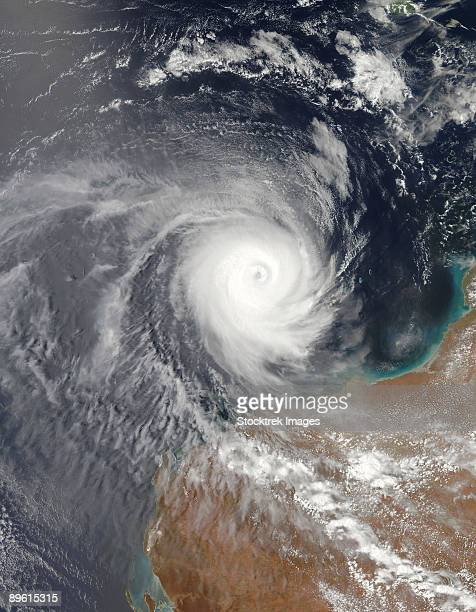 December 25, 2008 - Tropical Cyclone Billy off the coast of Western Australia.