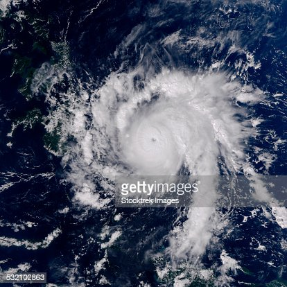 December 3, 2012 - Typhoon Bopha southeast of the Philippines.