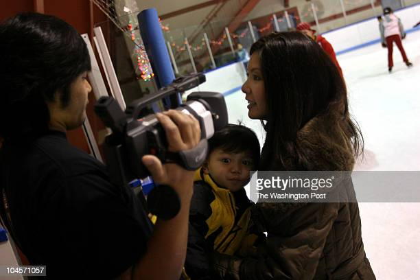 December 30 2006 CREDIT Susan Biddle / TWP Wheaton MD EDITOR sb New Year's Eve Eve at the Wheaton Ice Arena The week has been busy because children...