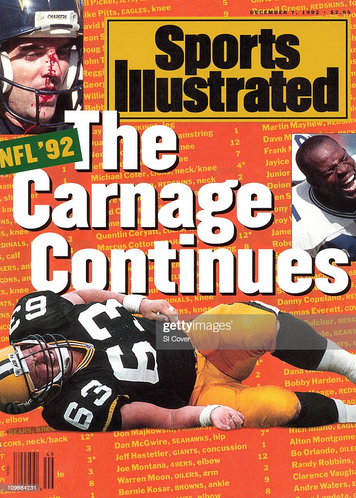 December 7 1992 Sports Illustrated Cover Football Nfl