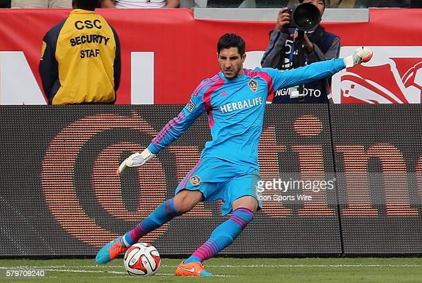 Los Angeles Galaxy's Jaime Penedo The Los Angeles Galaxy defeated the New England Revolution 21 to win the 2014 MLS Cup at the Stub Hub Center in...