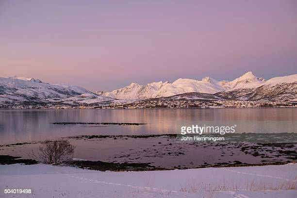 December daylight in Tromsø