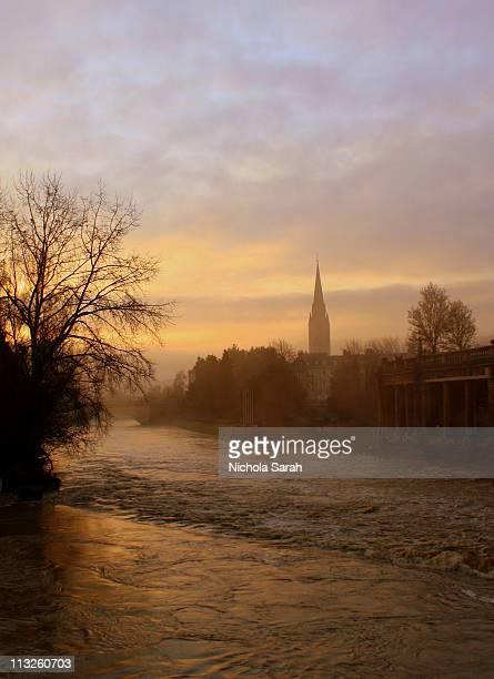 December Sunrise - City of Bath