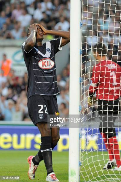 Deception Anthony MODESTE Bordeaux / Auxerre 3eme journee de Ligue 1