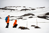 Deception Island, graves of early whalers