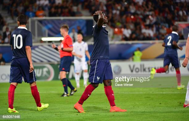 Deception Paul Georges NTEP France / Islande Eliminatoires Euro Espoirs Photo Dave Winter / Icon Sport