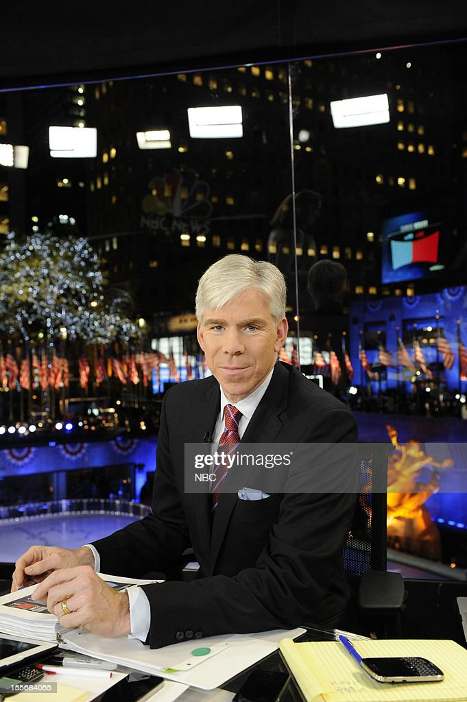 NBC NEWS - EVENTS -- Decision 2012 -- Pictured: Richard Gregory --
