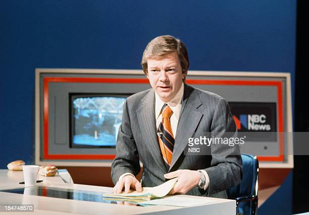 SPECIAL Decision '76 New Hampshire Primary Pictured NBC News' Jim Hartz during the 1976 New Hampshire Democractic Primary on February 24 1976