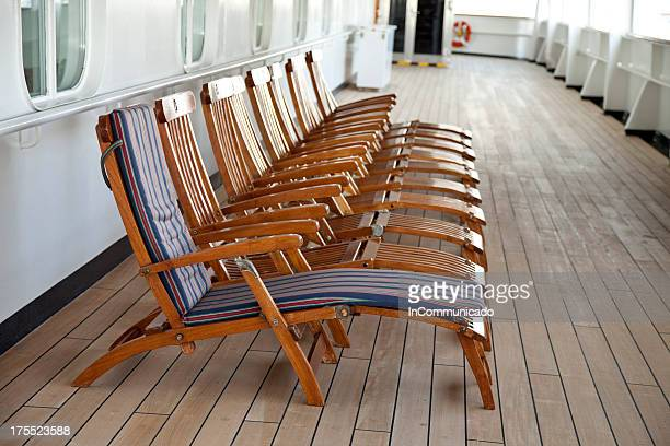 Deck Chairs - one with pad