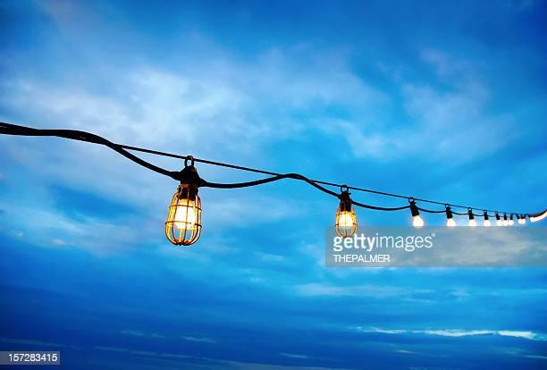 Lumières de la terrasse