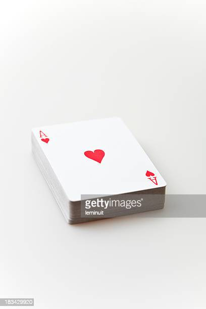 Deck of poker cards