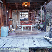 Deck of Rustic Cabin