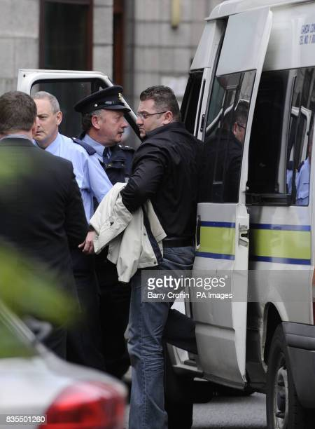 Declan Derek Patrick Duffy originally from Armagh but living in Hanover St West south Dublin appearing at the High Court in Dublin today as British...