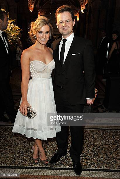Declan Donnelly and Georgie Thompson attend the Philips British Academy Television Awards after party at the Natural History Museum on June 6 2010 in...