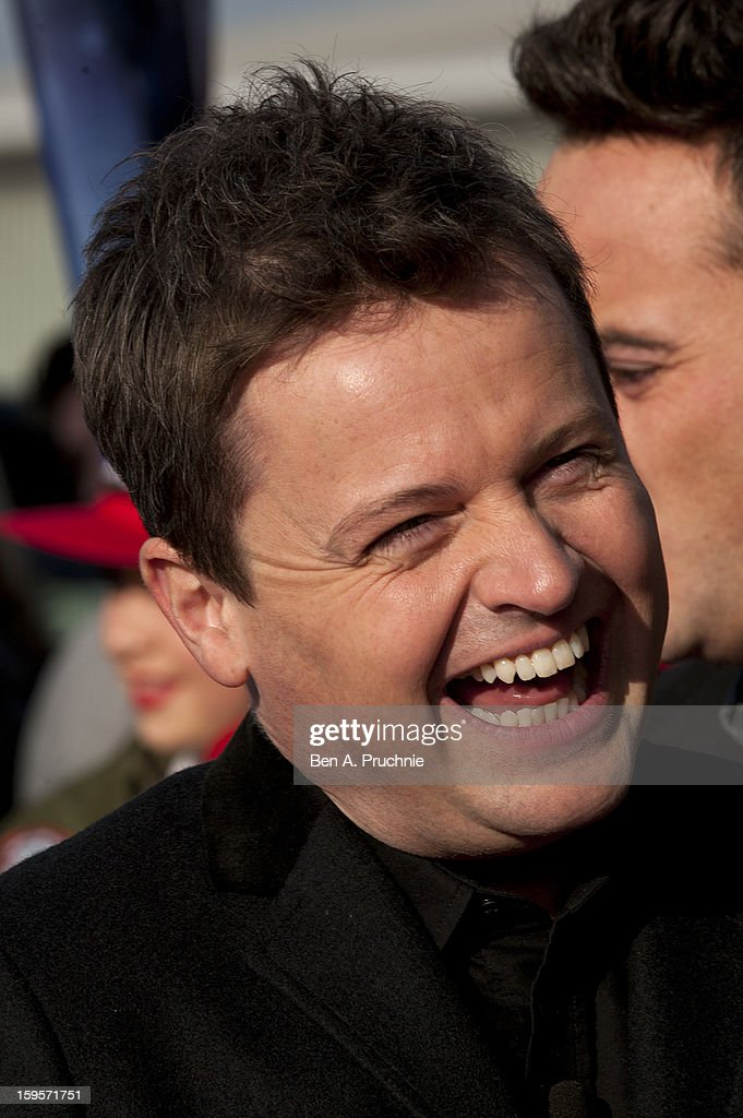 <a gi-track='captionPersonalityLinkClicked' href=/galleries/search?phrase=Declan+Donnelly&family=editorial&specificpeople=206200 ng-click='$event.stopPropagation()'>Declan Donnelly</a> arrives for the 1st day of judges auditions for 'Britain's Got Talent' at Millenium Centre on January 16, 2013 in Cardiff, Wales.
