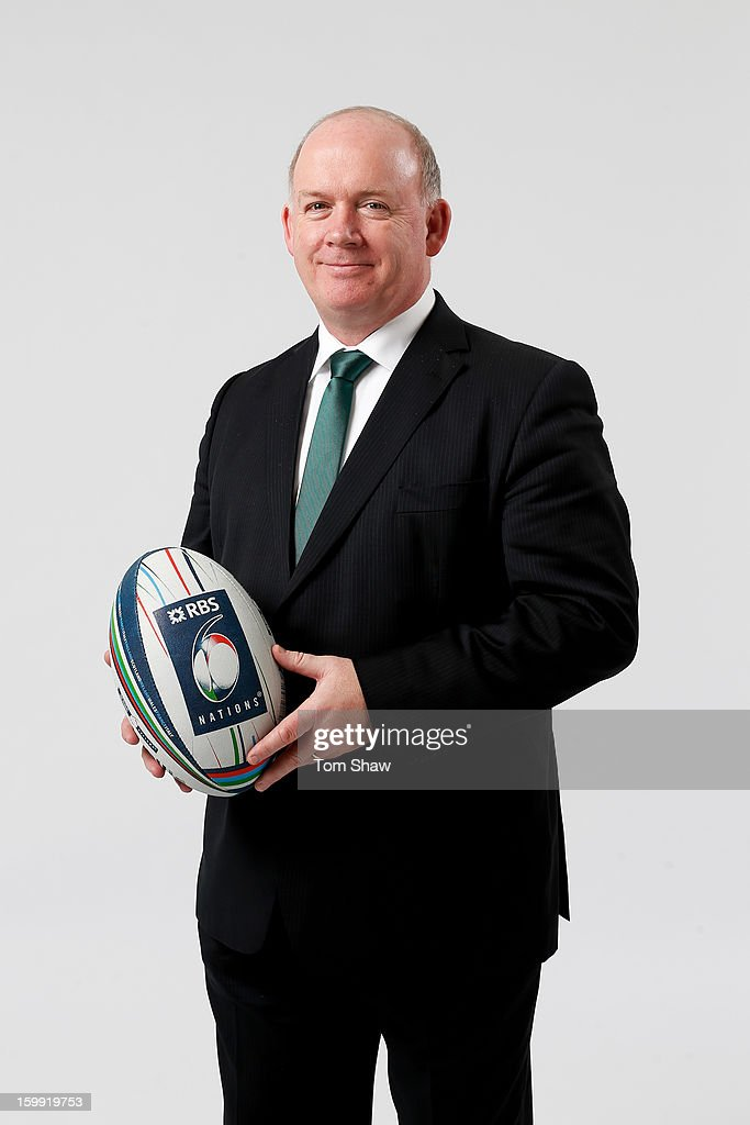 Declan Kidney the Ireland head coach poses uring the RBS Six Nations launch at The Hurlingham Club on January 23, 2013 in London, England.