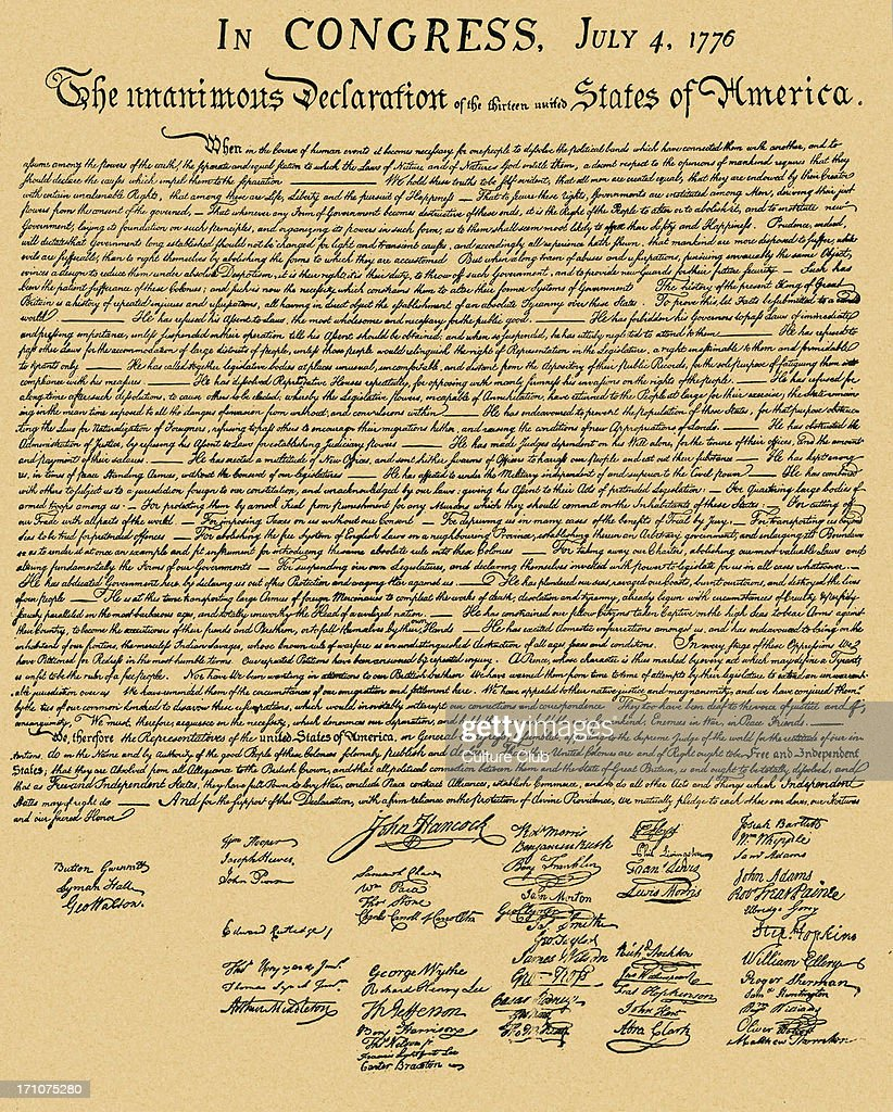 essay outline for the declaration of independence In the declaration of independence, certain rights were stated for all humans evidence/explanation: however, in the early times of america, these rights were not available to all humans mainly, wealthy white men got the benefits of human rights.