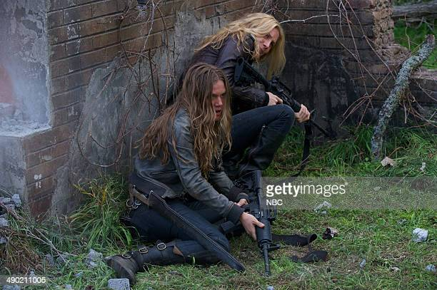 REVOLUTION 'Declaration of Independence' Episode 222 Pictured Tracy Spiridakos as Charlie Matheson Elizabeth Mitchell as Rachel Matheson