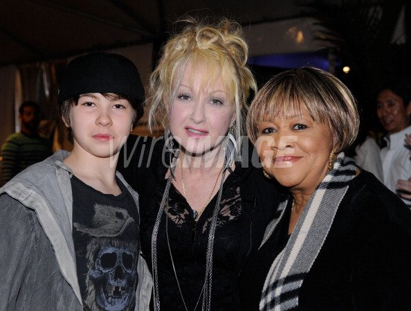 Declyn Wallace Thornton Lauper Musician Cyndi Lauper And Mavis Staples Wireimage 125902294 As the details about decly's profession is not available, his income source is also still unknown. 2