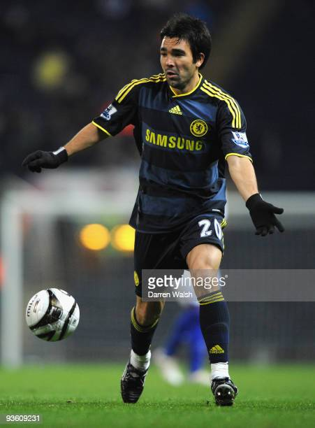 Deco of Chelsea in action during the Carling Cup Quarter Final match between Blackburn Rovers and Chelsea at Ewood Park on December 2 2009 in...