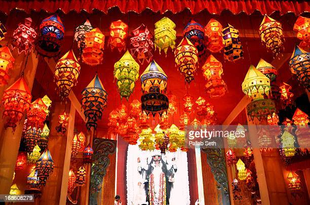 Diwali stock photos and pictures getty images for Annakut decoration ideas