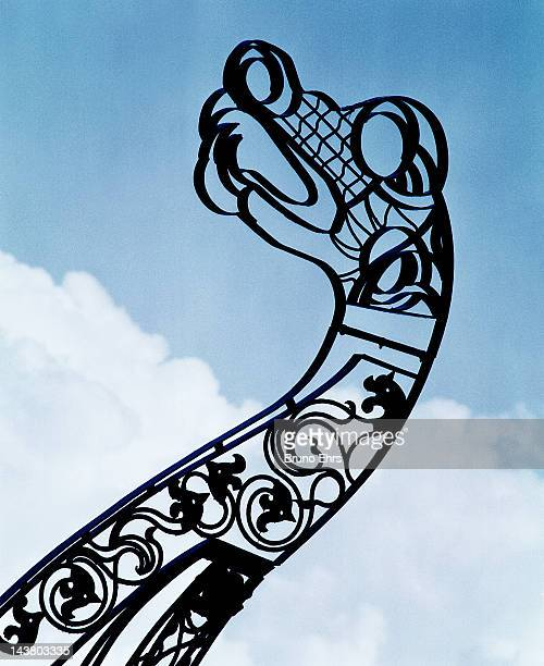 Decoration of Viking ship