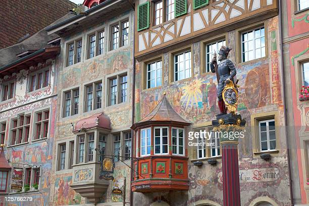 Decoration on buildings.