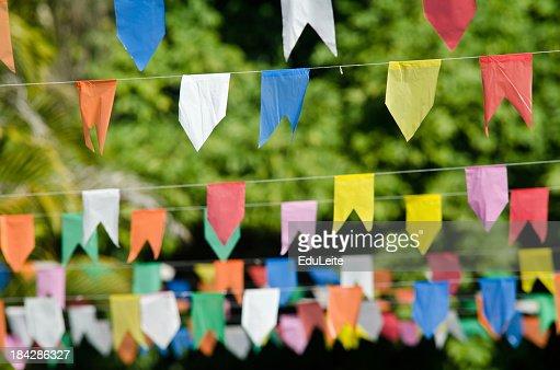Decorations for de Festa Junina