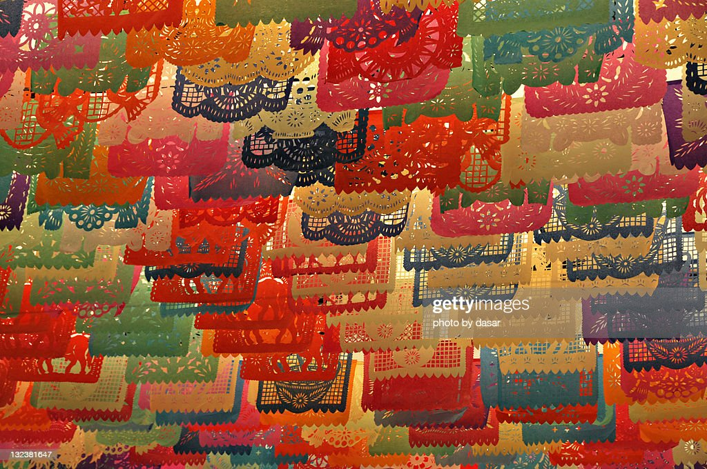 Decorations for mexican fiesta : Stock Photo
