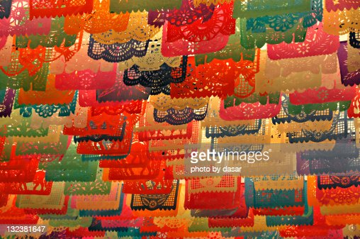 Decorations For Mexican Fiesta Stock Photo