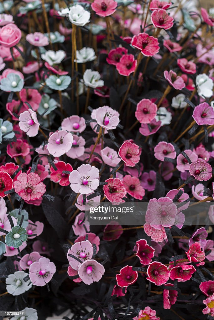 Decorazione di fiori artificiali : Foto stock