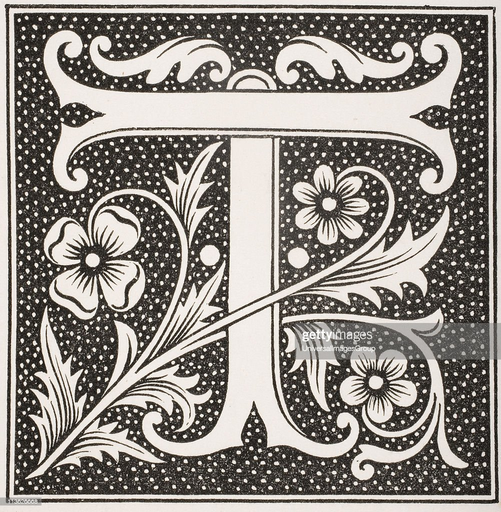 Decorative capital letter T Pictures | Getty Images