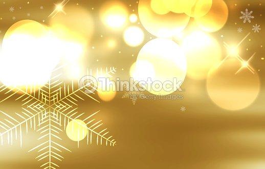 Fondo Decorativo Navidad Con Luces Bokeh Foto De Stock