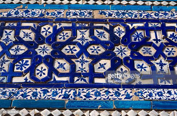 Decorative detail of the Tomb of Bibi Jawind Pakistan Uch Sharif