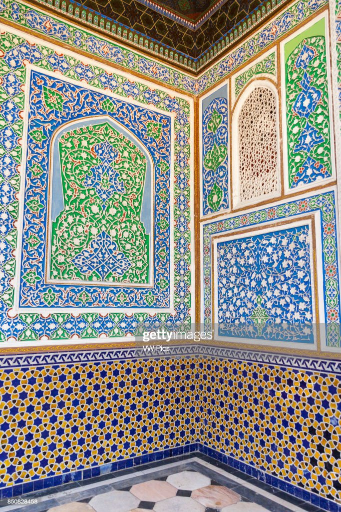 Decorative Exterior Wall Panels, House Of Alexander Polovtsev, Museum Of  Applied Arts, Tashkent Images