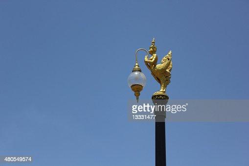 Decorativo luz de Rua : Foto de stock